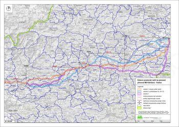 Javna razgrnitev - državni prostorski načrt za prenosni plinovod M9 Kidričevo - Vodice
