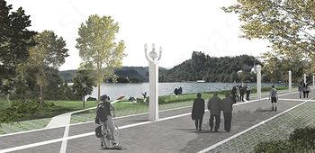 Jezerska promenada bo dobila novo podobo