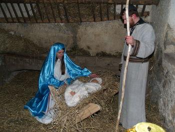 Svetopisemska Božična zgodba v Šmihelu