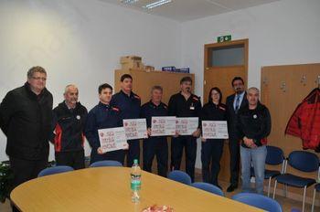 Petrolovci podarili gorskim reševalcem tisoč evrov
