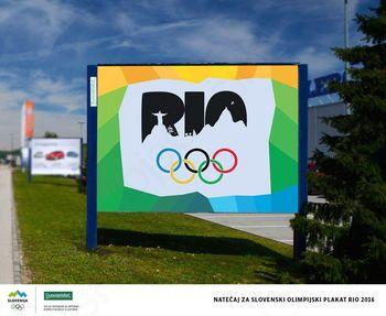 Natečaj za olimpijske plakate Rio 2016 za učence in dijake