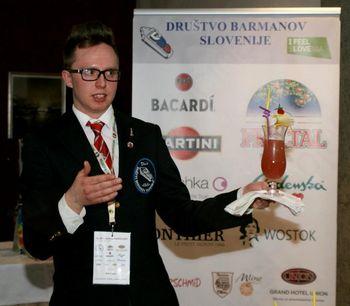 Privoščite si koktajl po receptu najboljšega slovenskega barmana