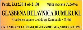 Glasbena delavnica Rumlkukl