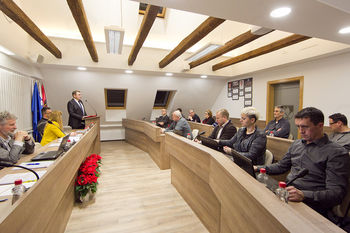 Občina Lukovica z novo konferenčno sobo