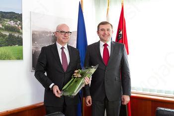 Obisk poljskega veleposlanika v občini Lukovica