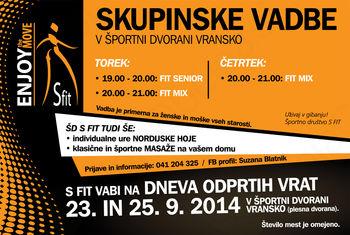 S FIT - URNIK 2014/15