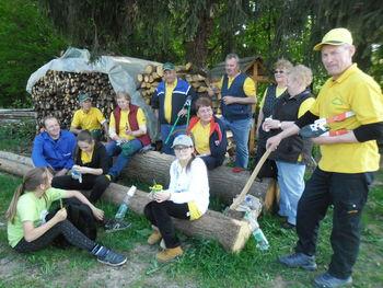Očistili smo turistično-sprehajalno pot Partovec