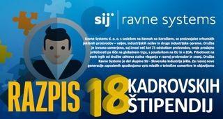 RAZPIS KADROVSKIH ŠTIPENDIJ - RAVNE SYSTEMS D.O.O.