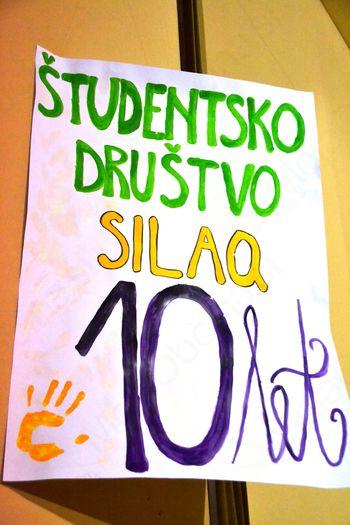 10 let študenstkega društva Silaq