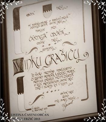 DaŠ-art Kaligrafija z Damjano -  Napisano iz srca