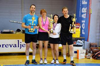 Znani zmagovalci Koroškega pokala v badmintonu za sezono 2015/16