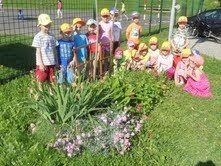 Vrtnarjenje v Vrtcu na Selah