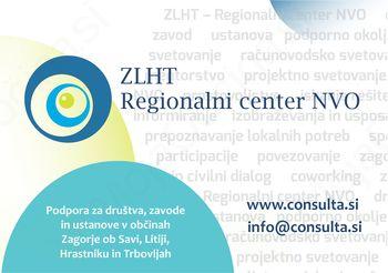 Podporno okolje nevladnih organizacij v občinah Zagorje ob Savi, Litija, Hrastnik in Trbovlje ZLHT–Regionalni center NVO