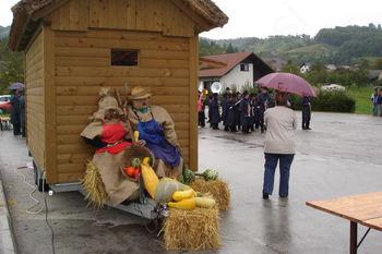 Otvoritev rudarske tematske poti Tk pav in zaključek Bučariade 2012 v Šentjanžu