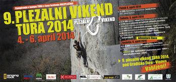 9. plezalni vikend Tura 2014