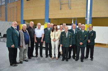 Veterani v družbi ministrice