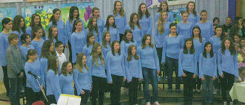 Slovo pevcev devetošolcev