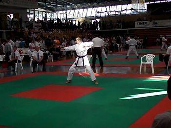2. pokalno tekmovanje Karate zveze Slovenije v Šenčurju