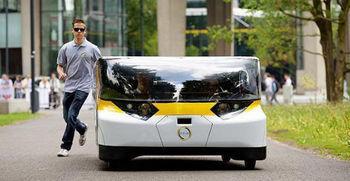 Prvi družinski avto na sončno energijo