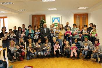 Novoletno srečanje novorojenčkov občine Kobarid