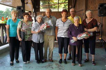 Družabno srečanje starejših od 75 let