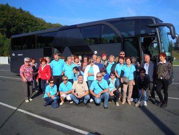 """Srečanje prostovoljcev iz projekta """"starejši za starejše"""" v Dolenjskih Toplicah"""