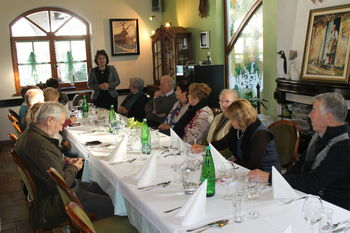 Srečanje članov Kluba seniorjev občine Kobarid