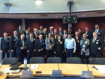 Obisk slovenskih županov v Bruslju