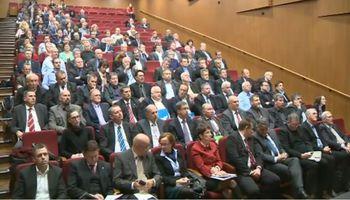 Župani in predstavniki vlade v Šentjurju o proračunu