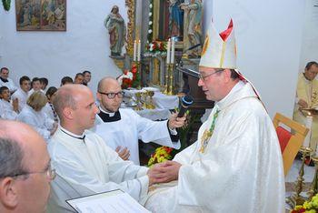 Diakonsko posvečenje na Ravnah na Koroškem