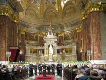 Vokalna skupina Chorus '97 iz Mirna navdušila poslušalce v Budimpešti