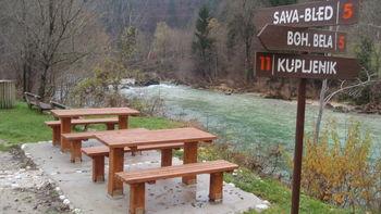 Obnovljena sprehajalna pot ob Savi