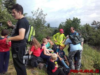 Gasilski mladinski tabor pod Ježo