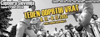 ŠKD Capoeira Slovenija - Poškodbe niso ovira za vadbo capoeire!