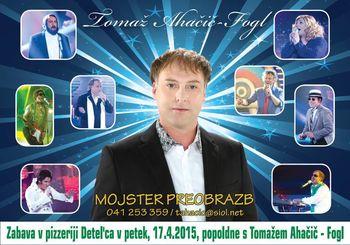 Zabava s Tomažem Ahačič - Fogl