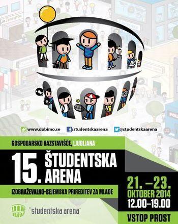 Študentska arena 2014