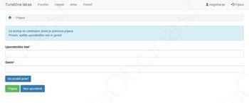 Prehod na nov sistem za obvezno poročanje števila nočitev preko spletne strani www.ttaksa.si