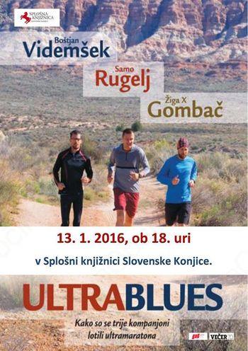 Čajanka: Predstavitev knjige ULTRABLUES - Samo Rugelj in Žiga X Gombač