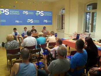 Ustanovljen lokalni odbor Pozitivne Slovenije