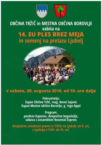 Dogodki v Tržiču od 15. do 21. avgusta