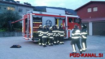 Nova generacija mladih gasilcev