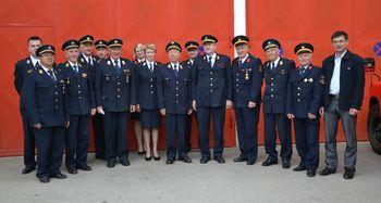 Srečanje nekdanjih gasilskih funkcionarjev
