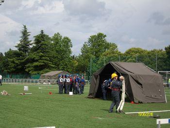Veteranke in pionirji PGD Vojnik na državnem gasilskem tekmovanju v Kopru