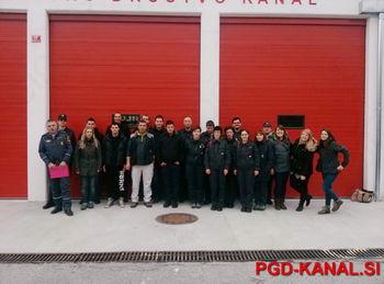 Tečaj gasilcev za vodjo skupine