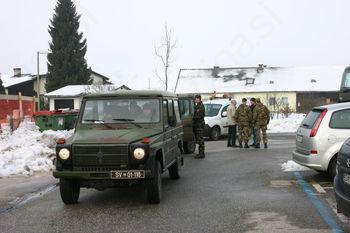 Na pomoč priskočili tudi vojaki