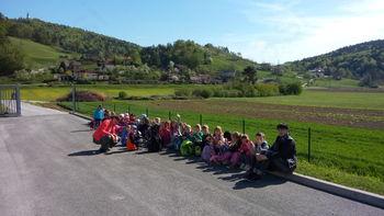 Otroci na ogledu Čistilne naprave Zreče