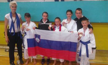 Uspeh v karateju v Srbiji