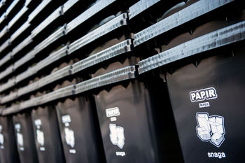 Snaga uspešno promovira ločevanje odpadkov