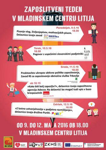 Zaposlitveni teden v MC Litija