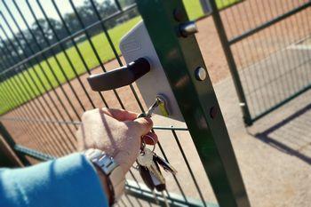 Zaradi vandalizma del športnega parka pod ključ